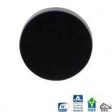 Gpf6817.60 zwart ronde vh-buitenrozet skg*** blind