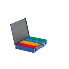 Assortimentskoffers - ok 66.23 - 23 bakjes - 440x330x66 mm