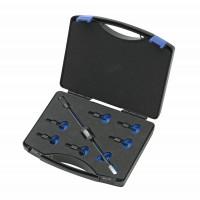 Set draadeind-adapters voor eengats toepassingen 700 g, 11-delig 1.81/