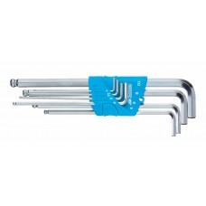 Stiftsleutelset 8-dlg 2-10 mm h 42 kel-88