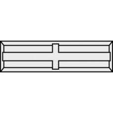 Messen - keermes 30 x 5,5 x 1,1 mm