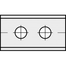 Messen - keermes 30 x 12 x 1,5 mm